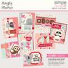 Simple Stories Sweet Talk Simple Cards Card Kit: Lots of Love