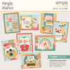 Simple Stories Hello Today Simple Cards Card Kit: Hello Friend