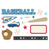 """Simple Stories """"Simple Pages"""" Page Pieces: Baseball"""