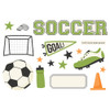"""Simple Stories """"Simple Pages"""" Page Pieces: Soccer"""