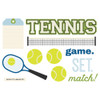 """Simple Stories """"Simple Pages"""" Page Pieces: Tennis"""