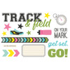 """Simple Stories """"Simple Pages"""" Page Pieces: Track & Field"""