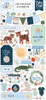 Echo Park Welcome Baby Boy 6x13 Chipboard Accents