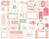 Echo Park Welcome Baby Girl Frames & Tags