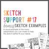 * DIGITAL DOWNLOAD * Allison Davis for SG | Sketch Support Bonus Sketch Examples #17