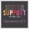 * DIGITAL DOWNLOAD * Allison Davis for SG Freebies Sketch Support   Free Sketch #17
