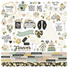 Simple Stories Happily Ever After Cardstock Sticker