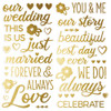 Simple Stories Happily Ever After Foam Stickers