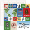 Carta Bella Our Travel Adventure 12x12 Paper: Journaling Cards