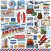 Carta Bella Our Travel Adventure Element Sticker