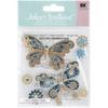 Jolee's Boutique Dimensional Stickers: Steampunk Butterflies