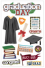 Paper House 3D Sticker: Graduation Day
