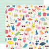 Simple Stories Sunkissed 12x12 Paper: Make a Splash