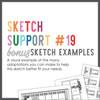 * DIGITAL DOWNLOAD * Allison Davis for SG   Sketch Support Bonus Sketch Examples #19