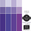 Memory Box 6x6 Cardstock Paper Pad: Twilight Purple