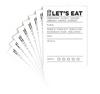 Elle's Studio 3x4 Journaling Tags: Let's Eat