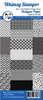 Whimsy Stamps Slimline (8.5x3.5) Paper Pack: BW Dog Patterns