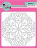 Pink & Main 6x6 Stencil: Mandala