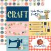 Carta Bella Craft & Create 12x12 Paper: 6X4 Journaling Cards