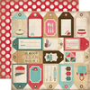 Carta Bella Home Sweet Home 12x12 Paper: Baking Tags