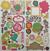 Crate Paper Cottage Collection Chipboard Accents