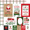 Echo Park Jingle All The Way 12x12 Paper: Journaling Cards