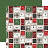 Carta Bella Home For Christmas 12x12 Paper: Deck The Halls