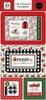 Carta Bella Home For Christmas 6x13 Chipboard Frames