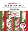 Echo Park Christmas Magic Cardmakers 6X6 Mega Pad