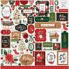 Carta Bella Happy Christmas Element Sticker