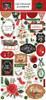 Carta Bella Happy Christmas 6x13 Chipboard Accents