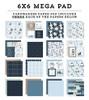 Echo Park Winter Cardmakers 6x6 Mega Paper Pad
