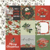 Simple Stories Simple Vintage Rustic Christmas 12x12 Paper: 4x4 Elements