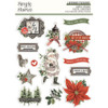 Simple Stories Simple Vintage Rustic Christmas Layered Stickers