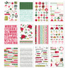 Simple Stories Holly Days Sticker Book