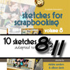E-BOOK: SFS Vol. 8 Adapted to 8-1/2 x 11 Pages - Part One (non-refundable digital download)