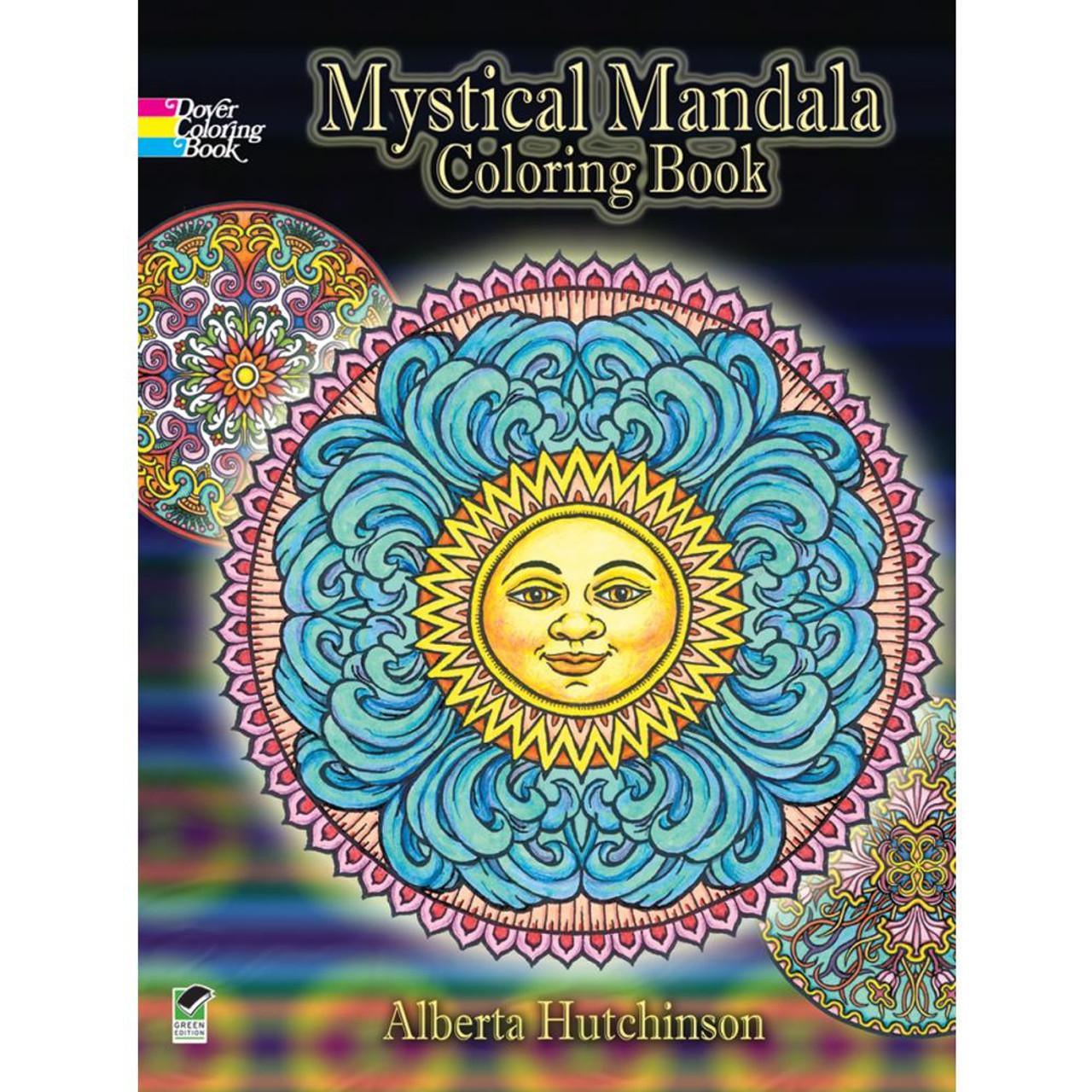 - Dover Publications Coloring Book: Mystical Mandala - Scrapbook