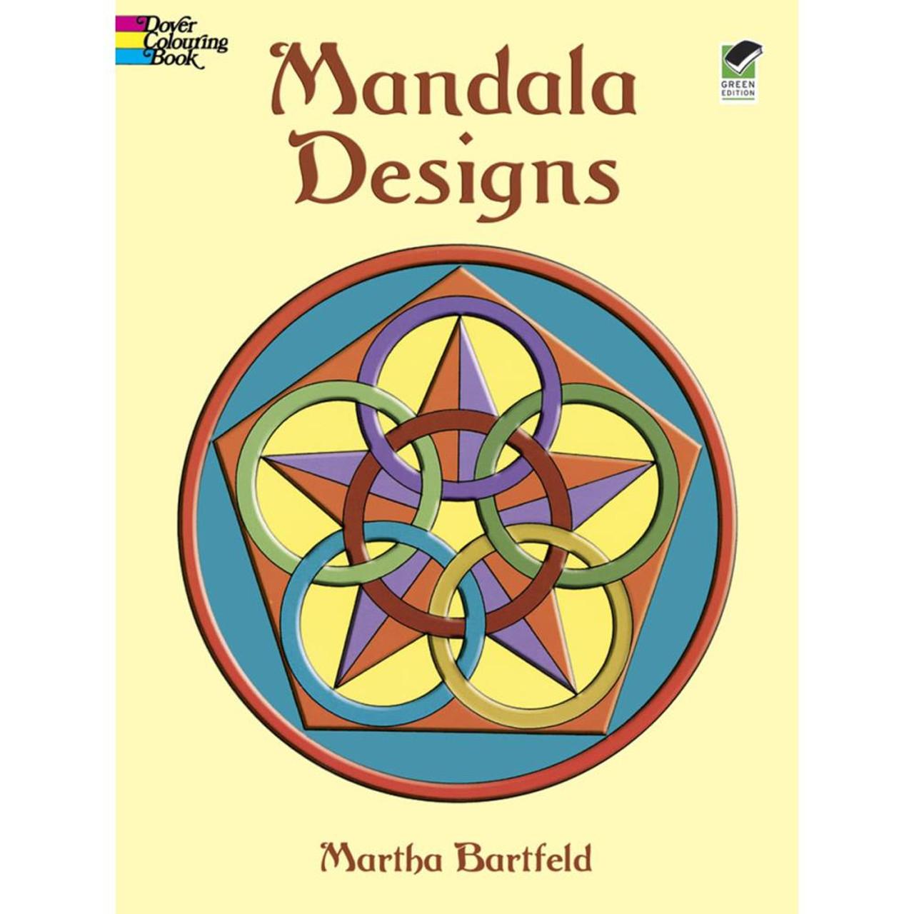- Dover Publications Coloring Book: Mandala Designs - Scrapbook