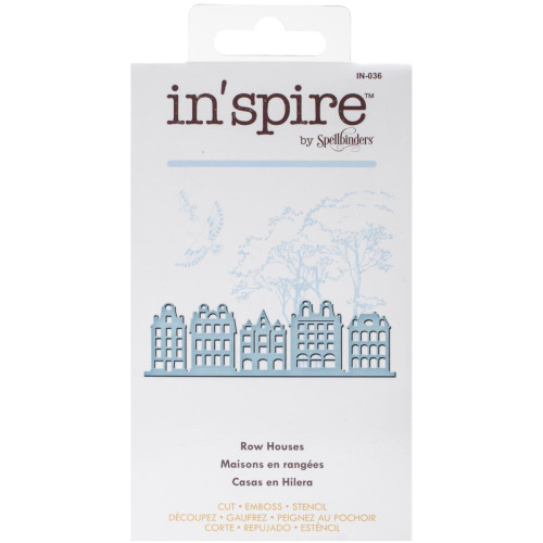 Spellbinders Shapeabilities Inspire Die: Row Houses