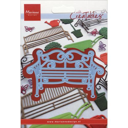 """Marianne Design Creatables Dies: Metal Garden Bench, 4""""X1.75"""""""