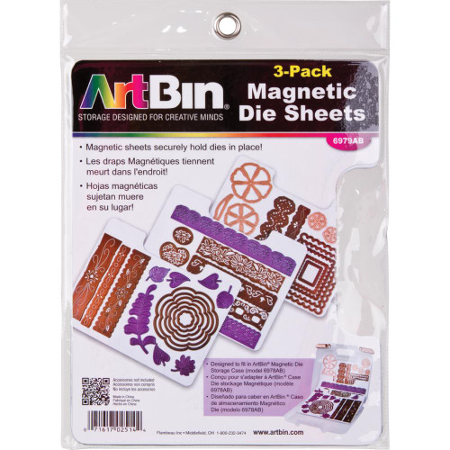 ArtBin Magnetic Sheets (3/Pkg)