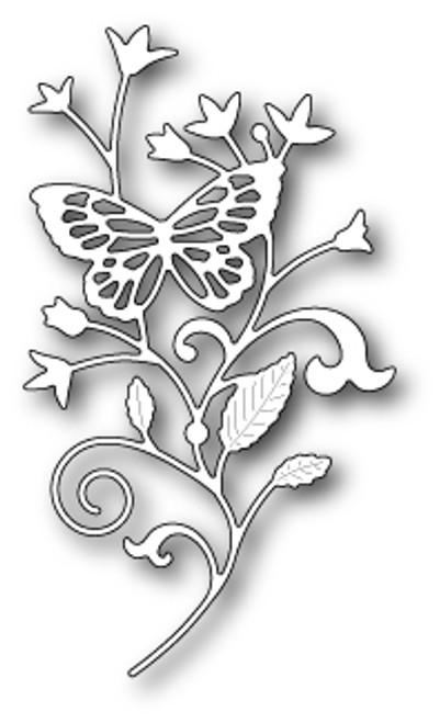 Poppystamps Dies: Elsa Butterfly Branch