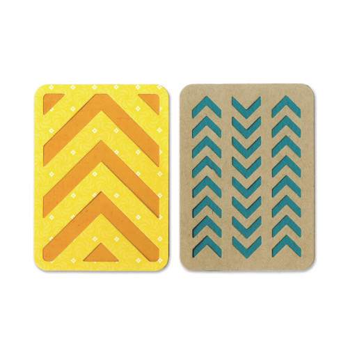 "Sizzix Thinlits Dies: 3""X4"" Cards #3 (For Pocket Pages)"