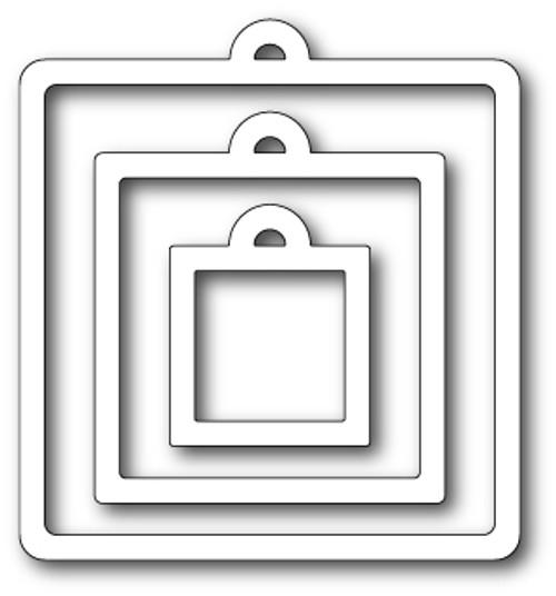 Memory Box Dies: Tag You're It Squares