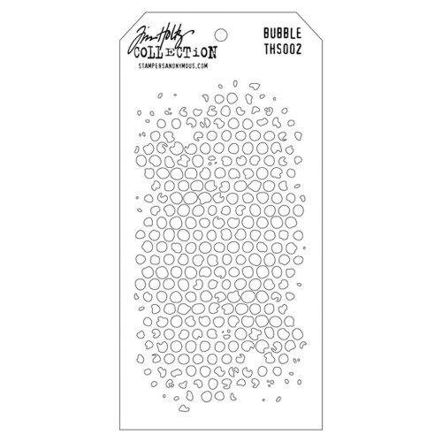 Tim Holtz Layered Stencil: Bubble
