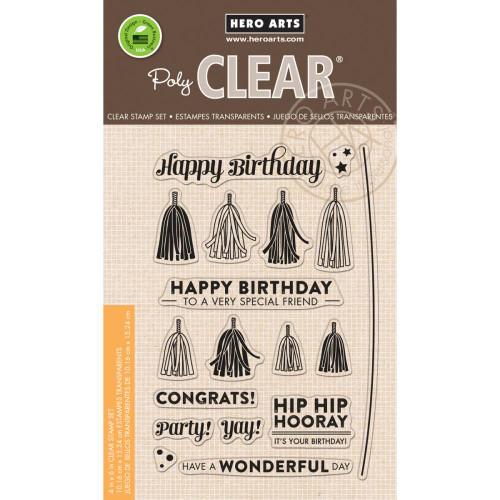 Hero Arts Clear Stamp: Tassels