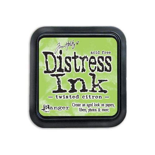 Distress Ink Pad: Twisted Citron