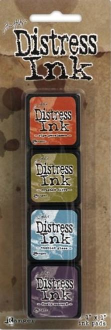 Tim Holtz Distress Ink Pad Mini Kit #8