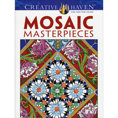 Creative Haven Coloring Book: Mosaic Masterpieces