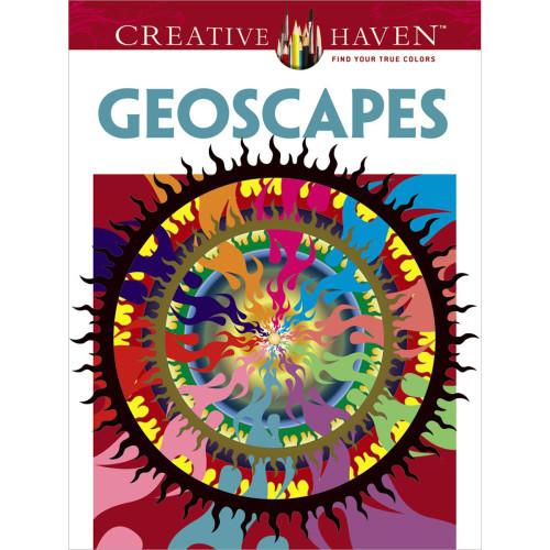 Creative Haven Coloring Book: Geoscapes